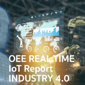 OEE Real Time Industry 4.0 Concept